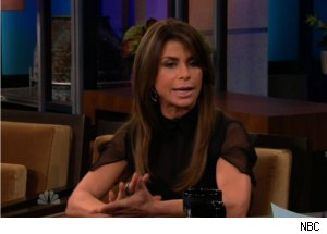 Paula Abdul Talks 'X Factor' on 'Tonight'