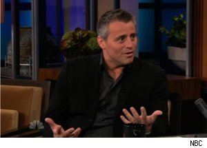 Matt LeBlanc Talks Hair Dye on 'Tonight'