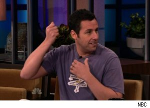 Adam Sandler Talks Death on 'Tonight Show'