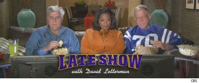 The infamous Leno-Letterman-Oprah ad from Super Bowl XLIV