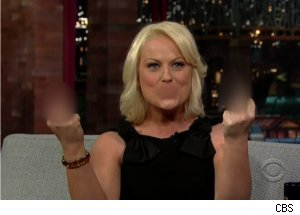 Amy Poehler's Road Rage on 'Late'