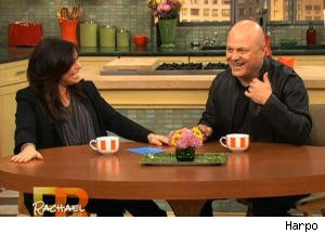 Michael Chiklis Does a Marlon Brando Impression for Rachael Ray