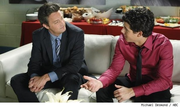 Matthew Perry and Nick Jonas on 'Mr. Sunshine'