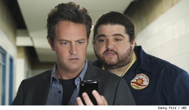 Matthew Perry and Jorge Garcia