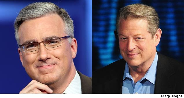 Keith Olbermann and Al Gore