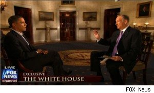 President Obama talks to Bill O'Reilly