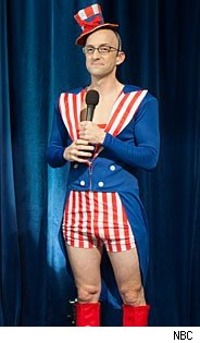 Dean Pelton, the American patriot