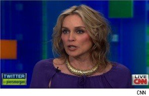 Sharon Stone on 'Piers Morgan Tonight'