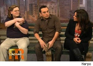 Prairie Dog Nips Jarod Miller's Crotch on Rachael Ray