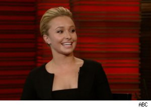 Hayden Panettiere on 'Regis and Kelly'