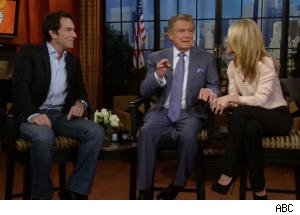 Jeff Probst Tries to Convince Regis to Stay on Show