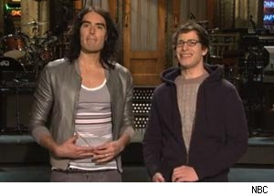 Russell Brand, Andy Samberg, Saturday Night Live