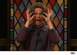 Dana Carvey's Church Lady on 'Saturday Night Live'