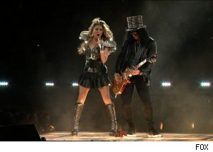 Fergie & Slash, 'Super Bowl XLV Half-Time Show'