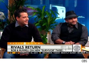 Rob Mariano and Russell Hantz Have a Score to Settle on 'Survivor: Redemption Island'