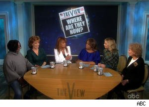 Jessica Hahn and Barbara Walters Spar Over Affairs on 'The View'