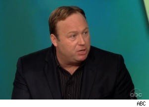 Alex Jones Vehemently Defends Charlie Sheen on 'The View'