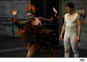 Anne Hathaway & James Franco invade 'Black Swan' - 'The 83rd Annual Academy Awards' Oscars 2011