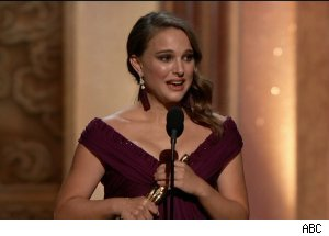 Natalie Portman wins Best Actress Oscar, 'The 83rd Annual Academy Awards'