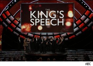 Best Picture Oscar for 'The King's Speech,' 'The 83rd Annual Academy Awards'