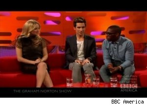 Kate Hudson, Tinie Tempah talk Hollywood sex, 'The Graham Norton Show'