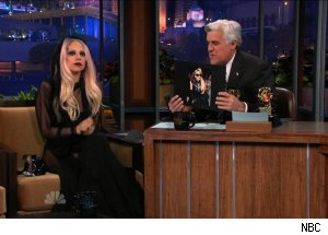 Lady Gaga, 'The Tonight Show with Jay Leno'