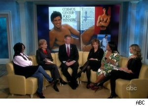 Scott Brown Talks 'Cosmo' Centerfold on 'View'