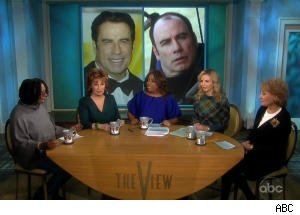 Bald John Travolta Photo Sets Off Discussion on 'The View'