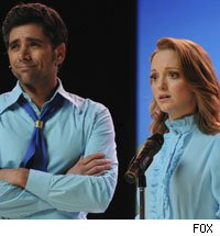 John Stamos and Jayma Mays