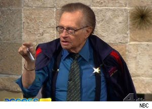Billy Bush and Larry King Argue Over March Madness Bracket