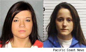 Amber Portwood and Jenelle Evans