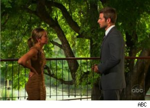 Brad, Ashley Say Goodbye on 'Bachelor'