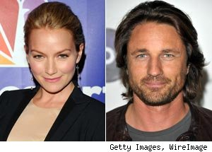 Becki Newton, Martin Henderson