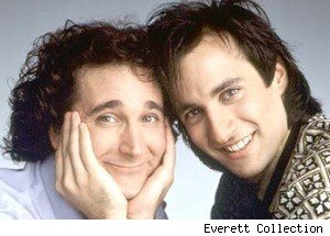 Bronson Pinchot, Mark Linn-Baker, Perfect Strangers