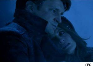 Castle and Beckett struggle to stay alive while trapped in a freezer.