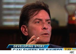 'GMA' 'Reports on Charlie Sheen's First Tweet