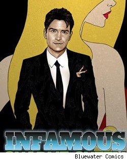 Charlie Sheen Gets a Comic Book