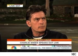 Charlie Sheen Speaks Out on Losing Custody of His Children on 'Today'