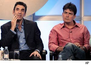 Chuck Lorre, Charlie Sheen