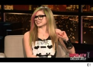 Avril Lavigne Admits Crush on 'Chelsea Lately'