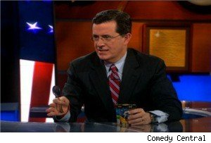 Ice cream wars on 'The Colbert Report'