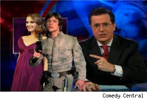 Stephen Colbert Uses 'Star Wars' to Blast Mike Huckabee's Natalie ...