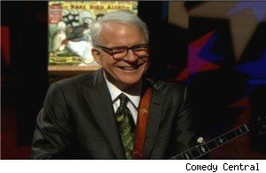 Steve Martin on 'The Colbert Report'