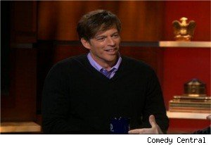Harry Connick Jr. on 'The Colbert Report'