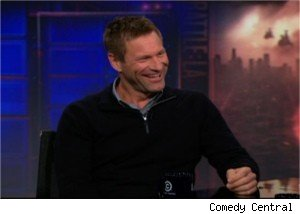 Aaron Eckhart on 'The Daily Show'