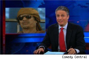 Muammar Qadaffi on 'The Daily Show'
