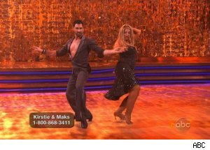 Kirstie Alley & Maksim Chmerkovskiy, 'Dancing With the Stars'