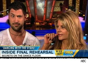 'GMA' Goes Behind the Scenes at Final 'DWTS' Rehearsal