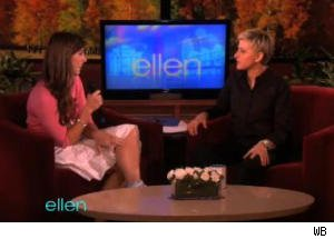 Adoring Fan Joins Ellen DeGeneres Onstage