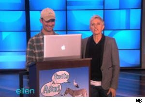 Ellen Answers Fan Tweets in a Segment Called 'Twits & Ask'